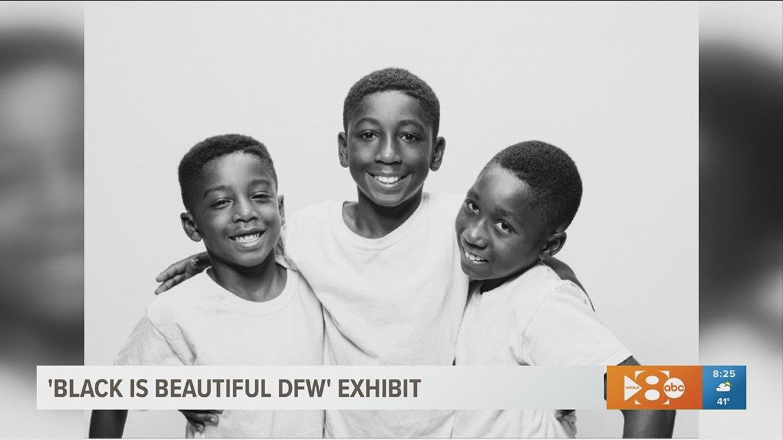 'Black is Beautiful DFW' exhibit to be on display