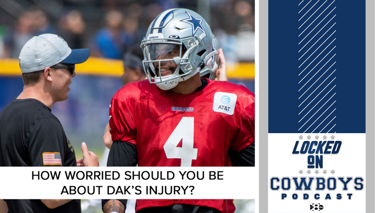 How worried should you be about Dak Prescott's training camp injury? | Locked On Cowboys