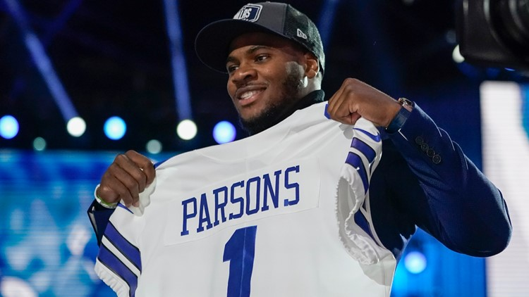 Cowboys add value with trade, then take Parsons at No. 12 on first night of NFL Draft