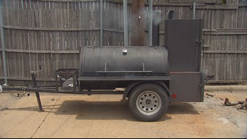 'It was like a piece of me was gone': Barbecue restaurant gets stolen smoker back