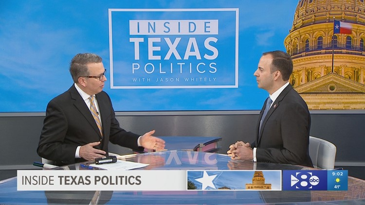 Congressman Lance Gooden answered questions from WFAA's Jason Whitely on Sunday morning