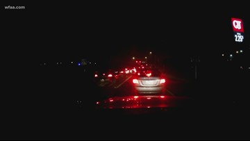 Freezing drizzle on roadways causing delays