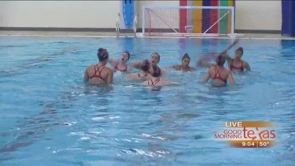 u s  nationals championship in synchronized swimming is