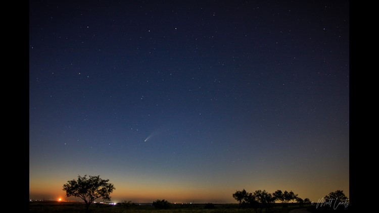 Photos  Comet Neowise Seen Over North Texas