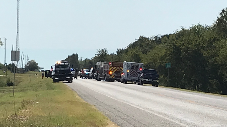 AMBER Alert: Missing Bosque County child found alive after crash that killed 2, including suspect, officials say
