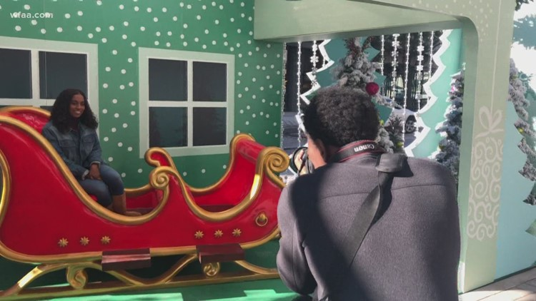 Influencers call it the most 'Instagrammable' Christmas spot in North Texas