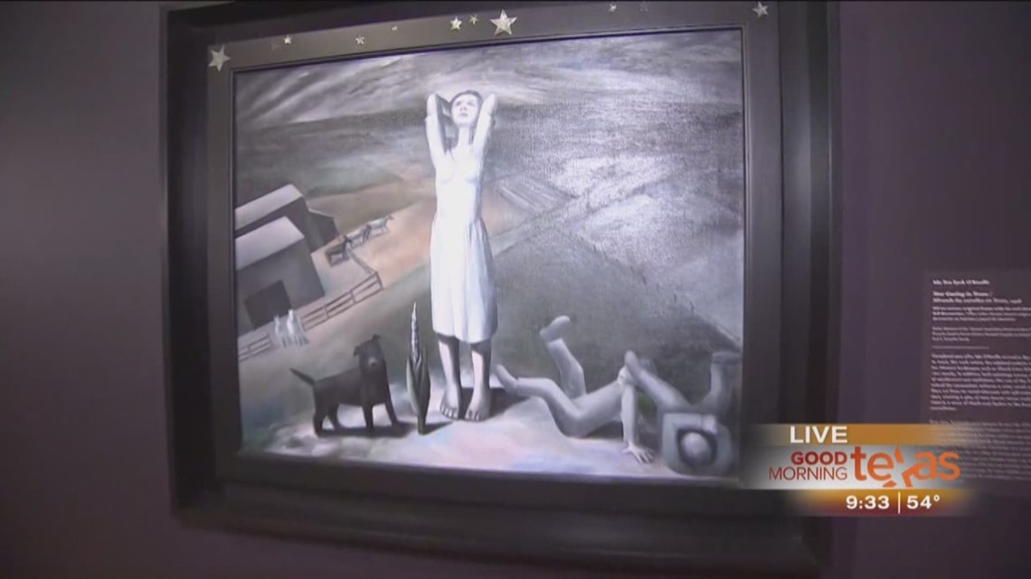 Gas Prices In Texas >> Ida O'Keeffe exhibit at Dallas Museum of Art | wfaa.com