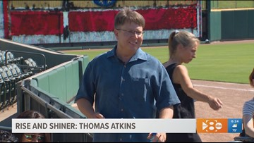 Rise and Shiner: Special needs teacher surprised with a big 'thank you'