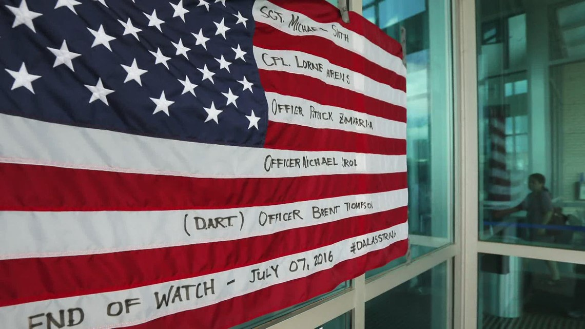 7/7: Remembering the officers who died in the Dallas ambush