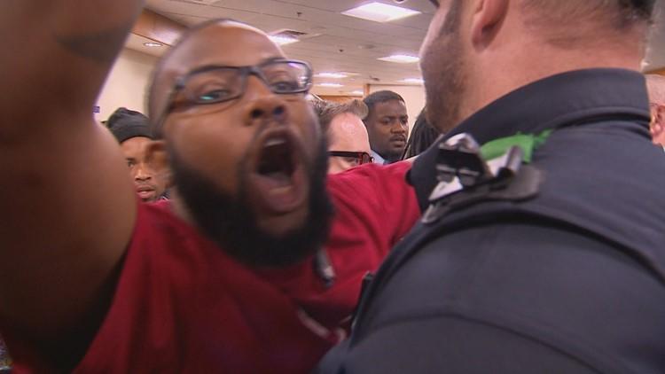 Dallas CPOB scuffle