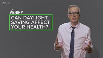 VERIFY: More heart attacks, strokes and fatal crashes. Thanks, Daylight Saving Time.