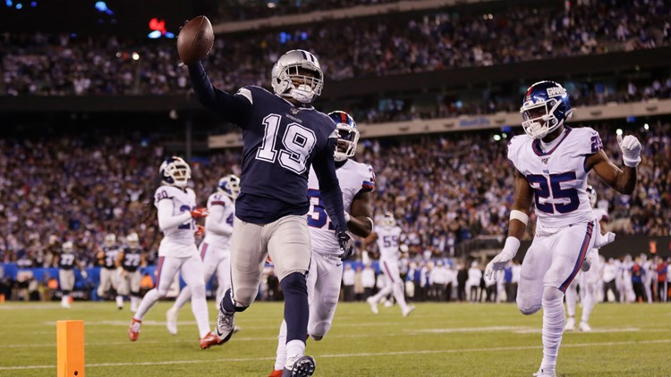 Dallas Cowboys Get 23rd Sweep Of New York Giants With Week 9