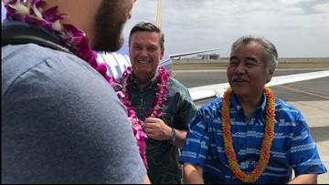 Southwest says 'Aloha' as inaugural flight lands in Honolulu