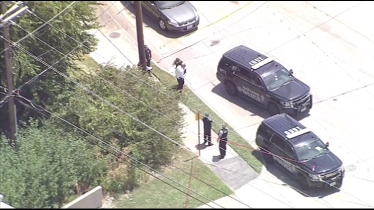 Person shot Thursday afternoon near a highway in Garland, police say.