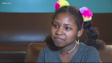 Wednesday's Child: 12-year-old Charlette