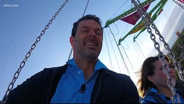 Kara and Marc take on the rides at the State Fair of Texas
