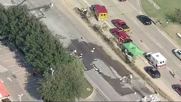 Downed power lines causes traffic delays in Rowlett