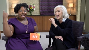 Fun with superstar Betty Buckley
