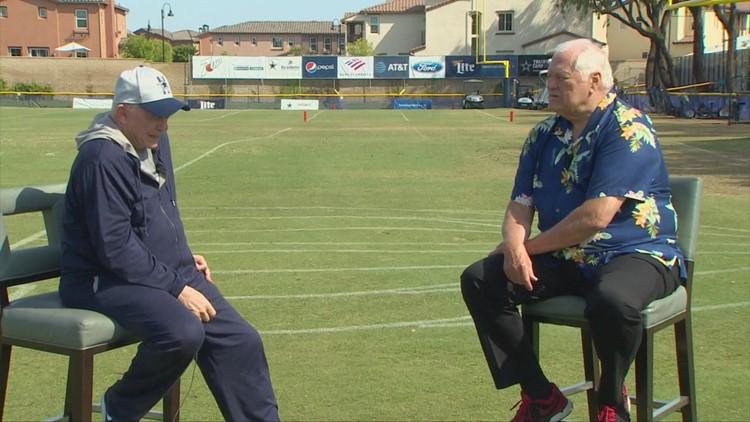 The final interview, Part 1: Dale Hansen and Jerry Jones