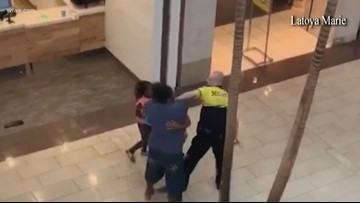 Hulen Mall security guard fired after struggle with pregnant woman caught on video