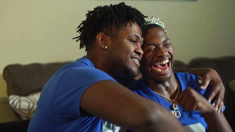 A car accident took Jaquon Curtis' football career, but couldn't touch his spirit