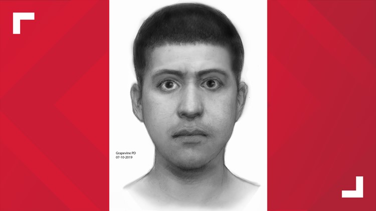 Sketch of Grapevine suspect