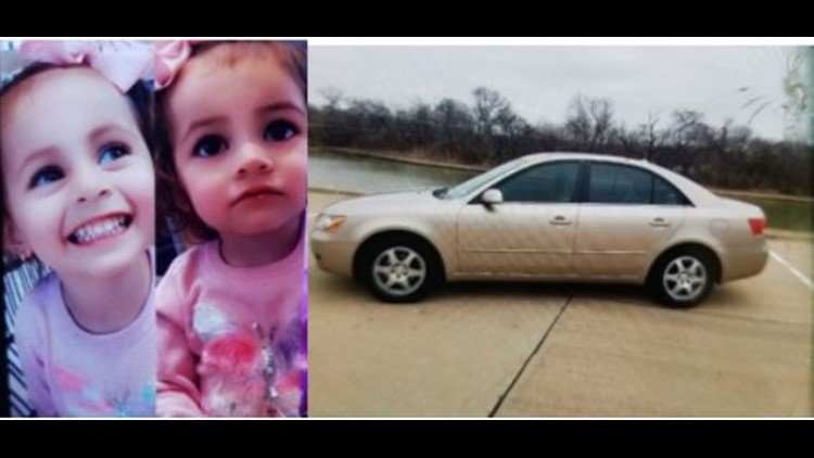 Dallas Police are searching for two children last seen in the back of a stolen vehicle