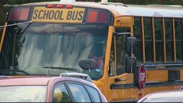 Dad using app to keep track of daughter's DISD bus route