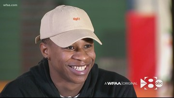 From amnesia to All-American: One athlete's remarkable journey