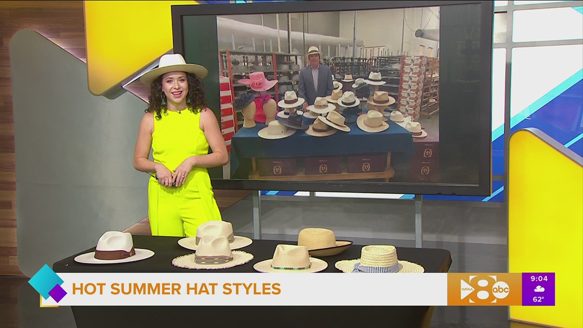 Hot summer hat trends