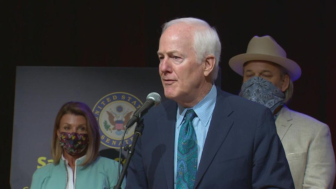 Sen. John Cornyn returns to Dallas, celebrates new law providing money for live music and performing arts venues