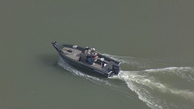Crews search for missing man