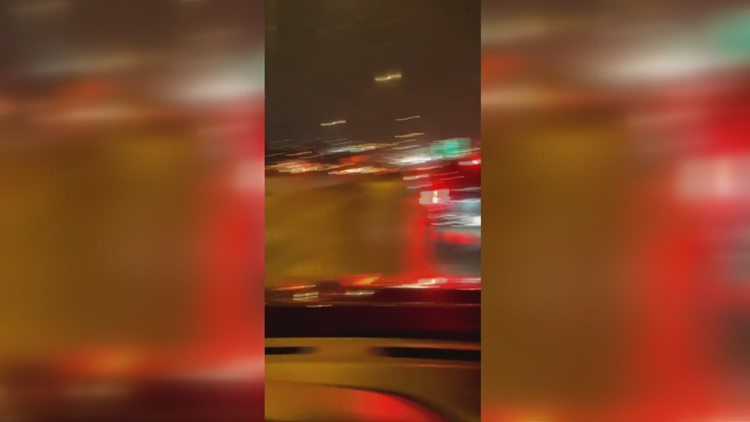 Watch the moment a massive 75 to 100-vehicle pileup crash happened in Fort Worth