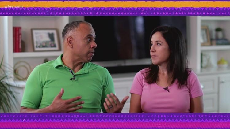 Yo soy Chris Lawrence y Marcela Salazar