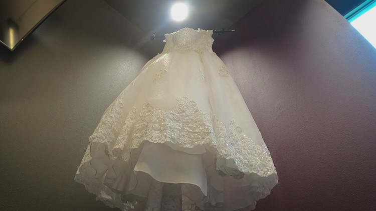 Do you know this wedding dress? The NTTA wants to return it to you