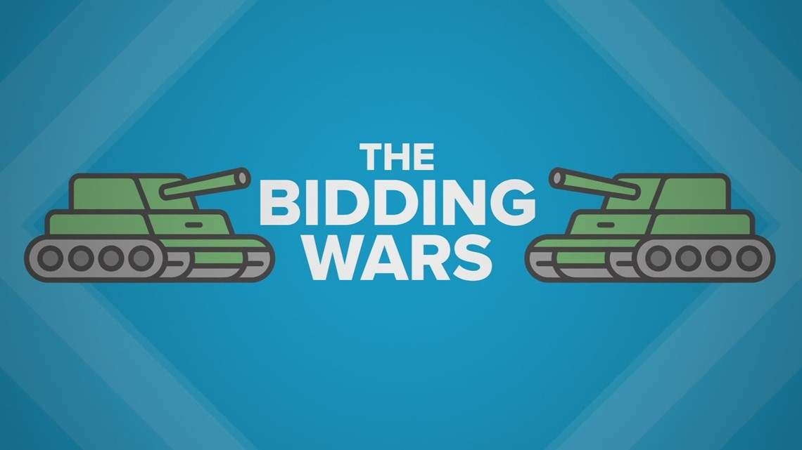 It's war out there: More stories from the home bidding wars