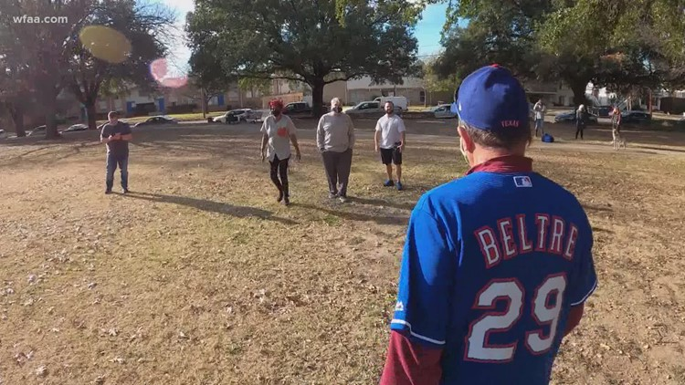 A 74-year-old was looking for someone to play catch with, but instead, he found a team and friendship