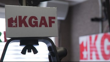 KGAF radio told its call letters are too vulgar for a Texas license plate