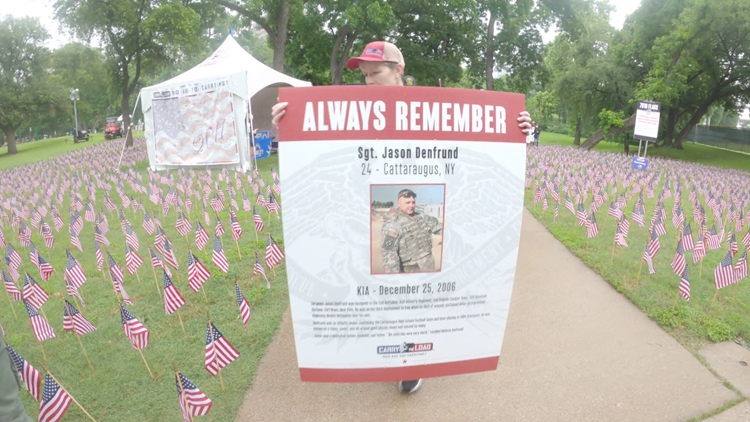 Rain couldn't dampen the purpose of Carry the Load memorial march