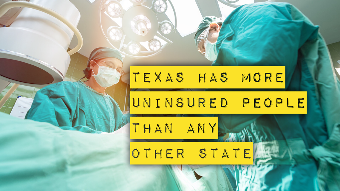 Texas has the most uninsured people in America. That's crushing rural hospitals