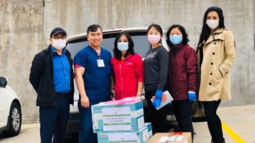 Texas Woman's University professor leads drive for protective medical equipment in COVID-19 fight