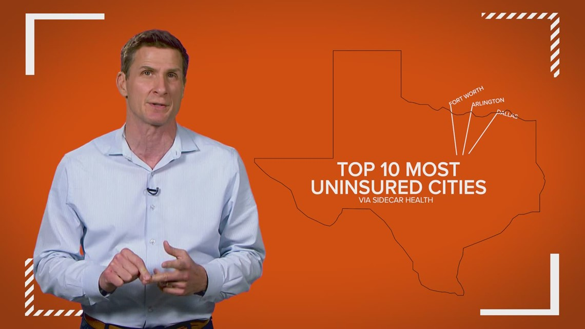 More than 5.4 million Texans are uninsured, report says