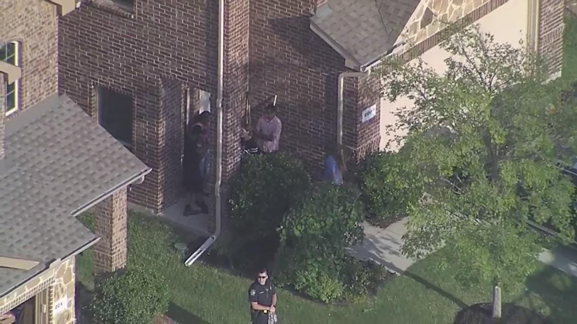 RAW: Emergency crews at scene where plane crashed into McKinney home