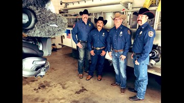 Meet Fort Worth's Station 80, a group of firefighters who work at the rodeo