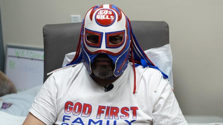 Unmasked: The North Texas man behind Buffalo Bills superfan persona 'Pancho Billa'