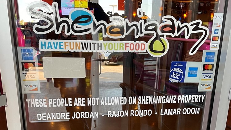 Three ex-Mavericks hilariously banned from Shenaniganz for no other reason than being bad for the franchise