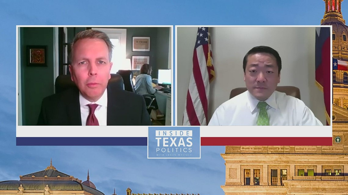 'Silence is death': Texas lawmaker implores Asian-Americans to become more politically active