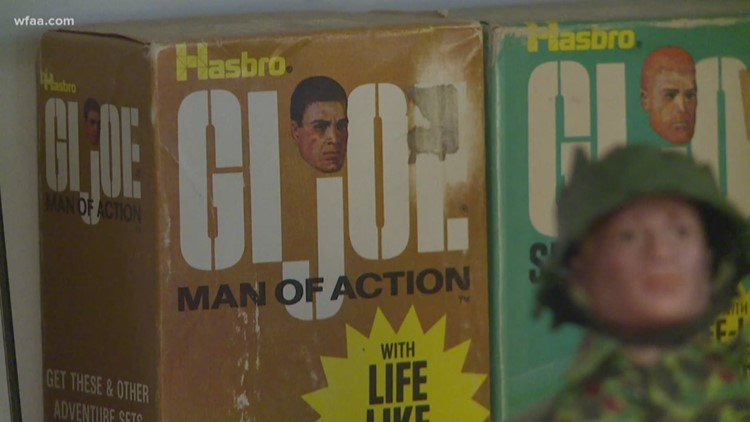 G.I. Joe helps man keep childhood alive