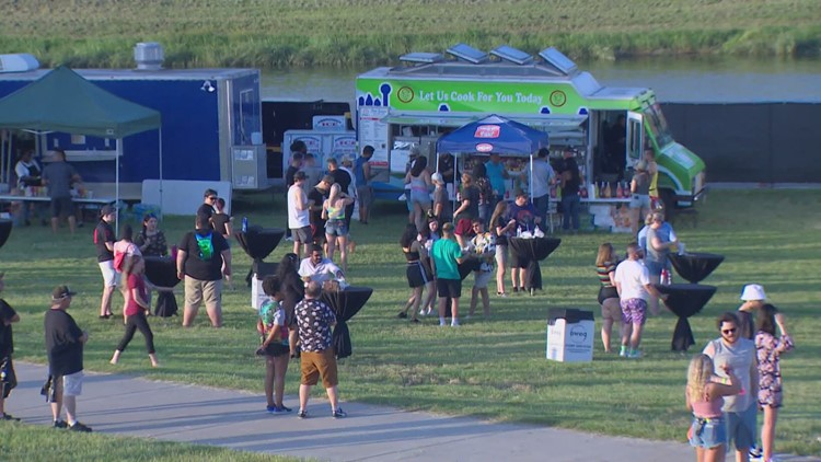 Light at the end of the tunnel: Thousands gather at Panther Island Pavilion for concert