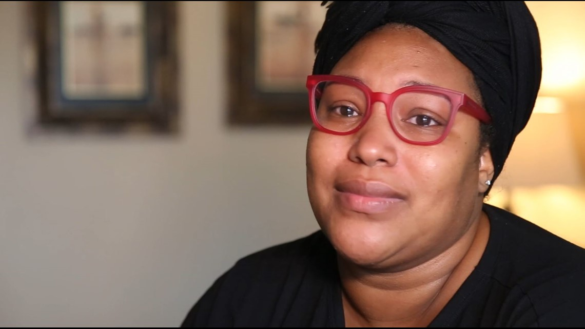 A mom lost her job and ended up living in a hotel room. Then, Interfaith Dallas turned her life around